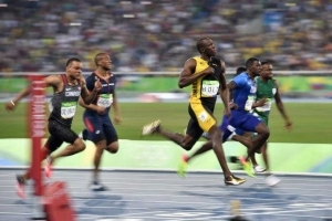 Rio 2016: Look What Usain Bolt Said After  Winning His Third Olympic 100m  Gold